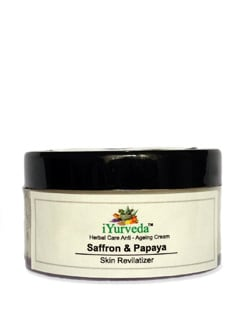 Saffron And Papaya Anti-Ageing Cream - IYurveda