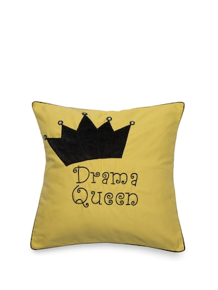 Buy Drama Queen Cushion Cover for Unisex from Bandbox for