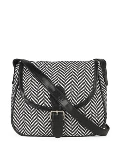 Zig Zag Cross Print Mini Sling - SUNNY ACCESSORY