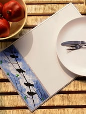 Birds In The Sky Placemats (Set Of 2) - Color Palette