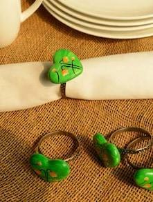 Million Bells Napkin Ring (Set Of 4) - Color Palette