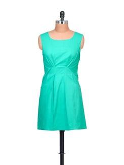 Green Sheath Dress - Myaddiction