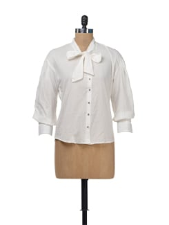 White Scilla Shirt - NUN