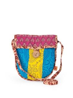 Handloom Cotton Ethnic Sling Bag - Desiweaves