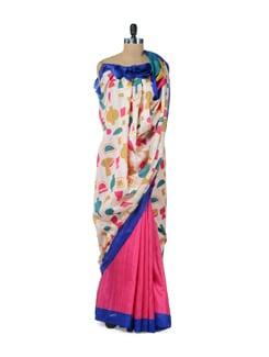 Stylish Abstract Print Saree - ROOP KASHISH
