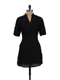 Black Linen Tunic - Yell