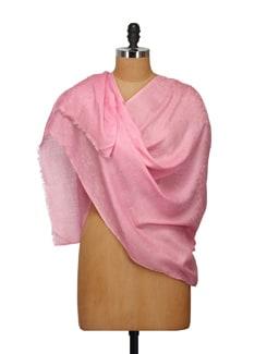 Fine Wool Self Jacquard Shawl - Elabore