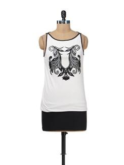 Black & White Short Dress - AND
