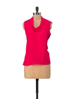 Stylish Hot Pink Top - NUN