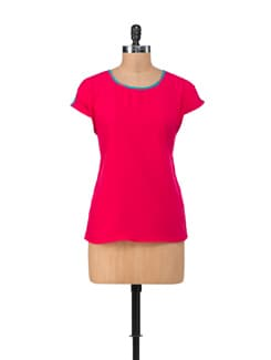 Stylish Pink Top - NUN