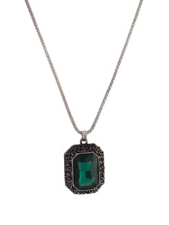 Elegant Green Pendant Necklace - YOUSHINE
