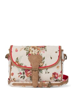 Floral White Sling - Ivory Tag