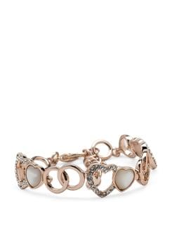 Fanny Hear 14k Rose Gold Plated Bracelet - Ivory Tag
