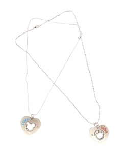 Expression Of Young Love Pendant Set - DIOVANNI