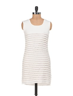 White Tiered Dress - Sanchey
