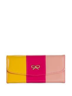 Chic Pink & Yellow Wallet - Toniq