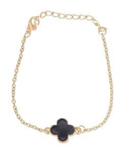 Black & Gold Chain Bracelet - YOUSHINE