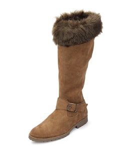 High Leather Boots - La Briza