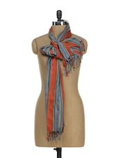Striped Stole -  online shopping for stoles