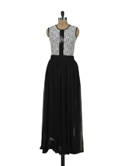 Long Chiffon Dress - HERMOSEAR