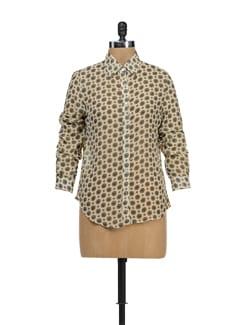 Printed Georgette Shirt - TREND SHOP
