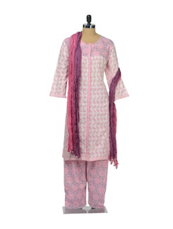 Ethnic Parrot Print Suit - KILOL