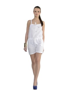 Summer Chic White Playsuit - Delhi Seven