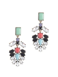 Fancy Multicolored Party Earrings - Miss Chase