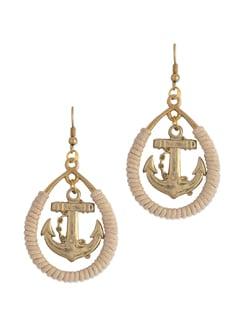 Anchor Earrings - Blend Fashion Accessories