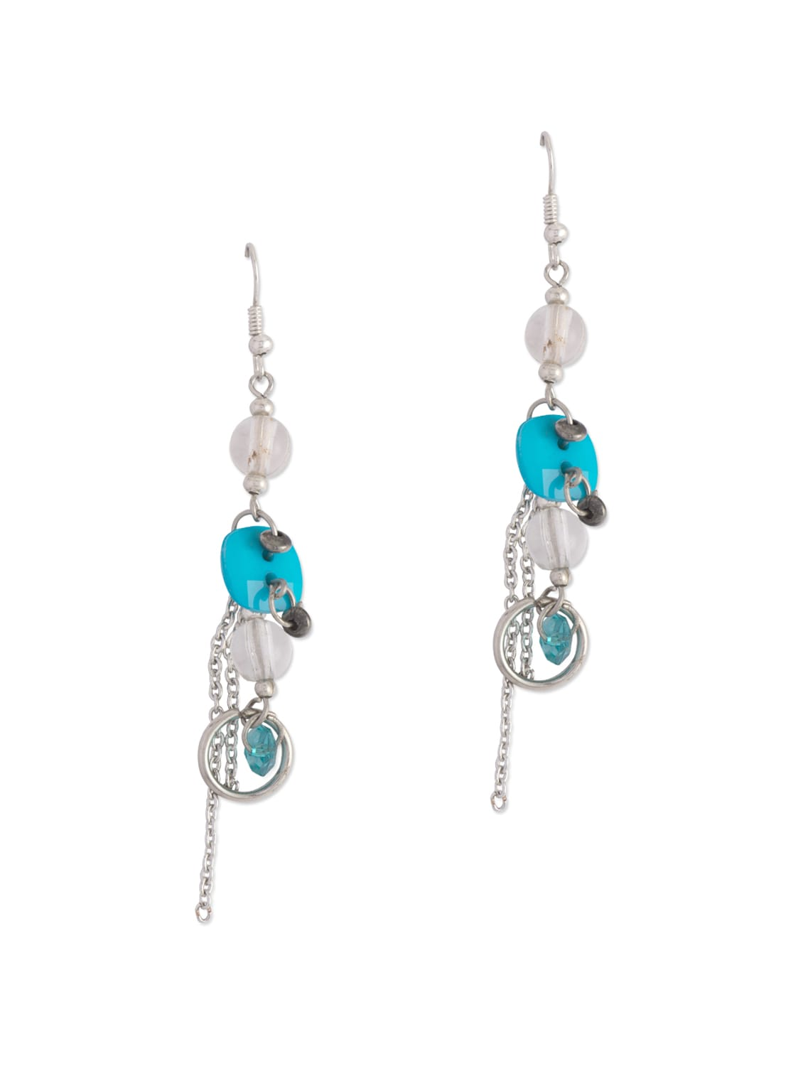 Buttoned Down Earrings - Blend Fashion Accessories