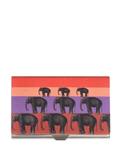Elephant Stack Steel Cardholder - The Elephant Company