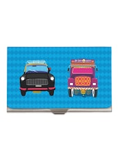 Taxi Truck Steel Cardholder - The Elephant Company