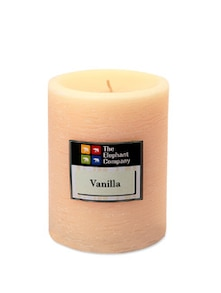 Candle Scented Vanilla- Ivory 4in - The Elephant Company