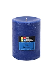 Candle Scented Fresh Breeze- Blue 4in - The Elephant Company