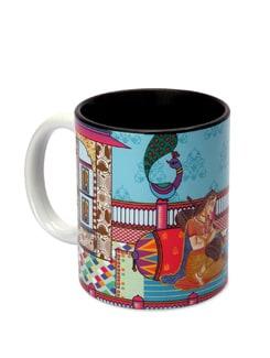 Ceramic Mug Modern Mughal - The Elephant Company