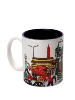 Ceramic Mug Mumbai Life 2 - The Elephant Company