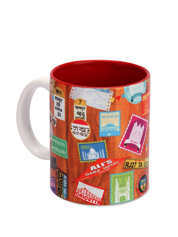 Ceramic Mug Indian Journey - The Elephant Company