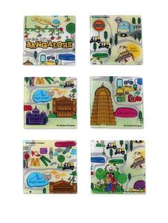 Coaster Acrylic Bengaluru Map - The Elephant Company