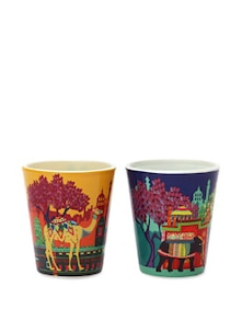 Shot Glasses Caravan Serai & Elephant Savari - The Elephant Company