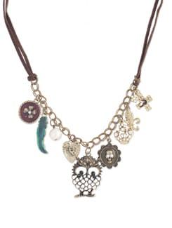 Multi Charm Necklace - YOUSHINE