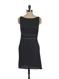 Sleeveless Black Dress - I KNOW By Timsy & Siddhartha