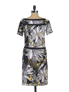 Jungle Print Straight Fit Dress - I KNOW By Timsy & Siddhartha