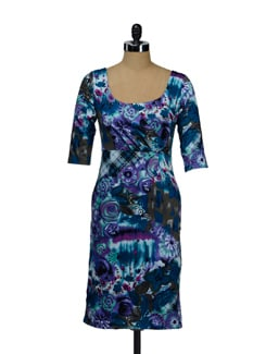 Assorted Print Dress - I KNOW By Timsy & Siddhartha