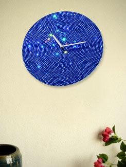 Zeeshaan Full Moon Sapphire Wall Clock - Zeeshaan