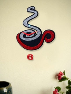Zeeshaan Brewing Coffee Wall Clock - Zeeshaan