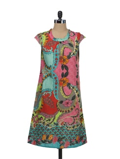Floral Print Tunic - Tops And Tunics