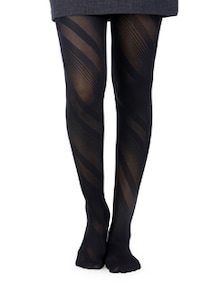 Swirl Stripes Patterned Stockings - Miss Chase