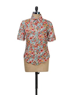 Floral Print Shirt - TREND SHOP
