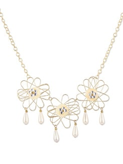 Wire Floral Neckpiece - THE PARI