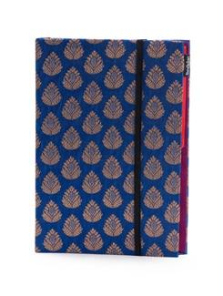 Blue Brocade Folder (Small) - SUNDARBAN